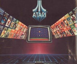 atari, game, and retro image