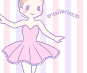 ballet, dress, and music notes image