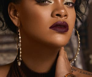 rihanna, makeup, and beauty image