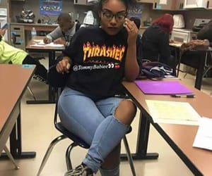 outfit, fashion, and thrasher image