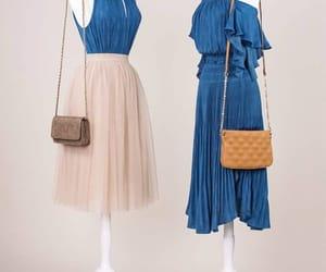 blue, skirt, and tul image