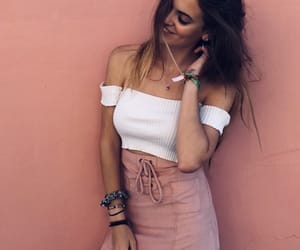 girl, goals, and pink image