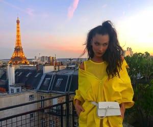 bella hadid, model, and paris image