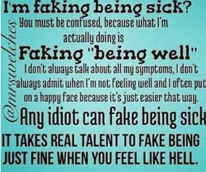 lonely, pain, and fibro image