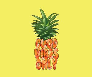 fruit, pineapple, and quotes image