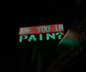 pain, grunge, and aesthetic image
