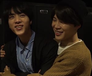 jin, bts, and jinmin image