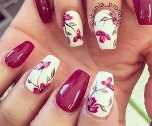 decoration, nails, and design image