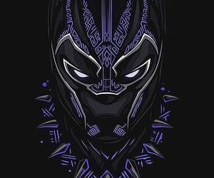 Marvel, black panther, and wakanda image