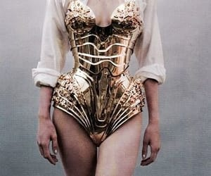 gold and corset image
