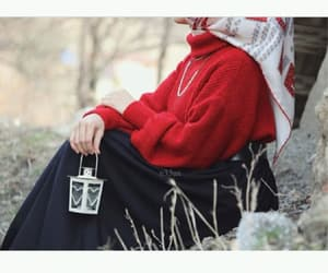 hijab, محجبات, and كﻻم image