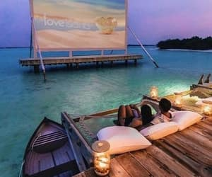 travel, couple, and beach image