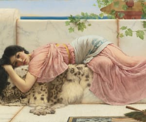 art, painting, and John William Godward image