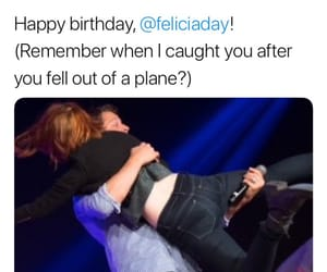 Felicia Day, markiplier, and happy birthday image