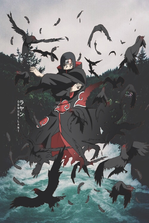 Itachi Aesthetic Wallpapers Design By ラヤン On We Heart It