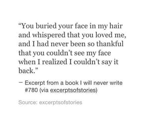 quotes, Relationship, and book-i'll-never-write image