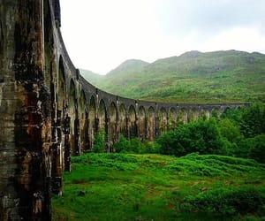 green, hogwarts express, and scotland image