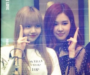 lisa, park chaeyoung, and bp rosé image
