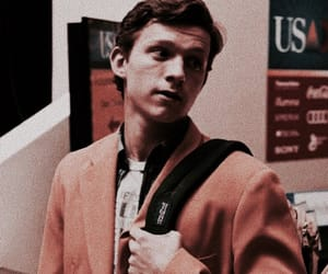 tom holland, spiderman, and icon image