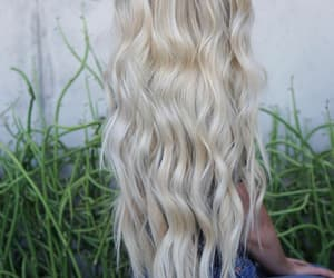 blond, blond hair, and fashion image