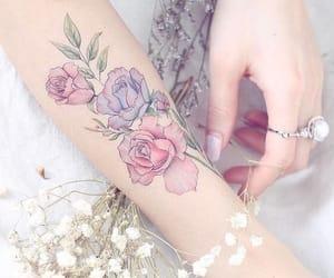 beautigul, pretty, and tattoo image