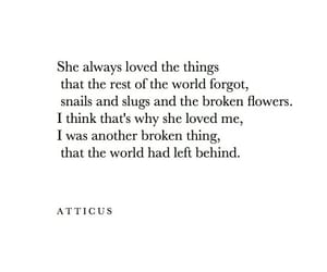 atticus, broken, and poems image
