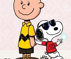 background, charlie brown, and snoopy image