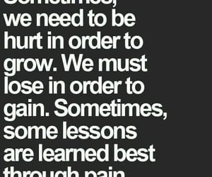 quotes, hurt, and lessons image