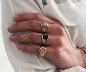 accessories, fashion, and rings image