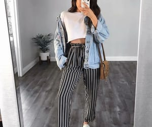 fashion, casual style, and outfit image