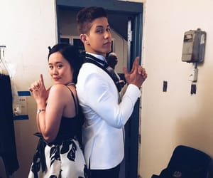 backstage, brandon larracuente, and michele selene ang image