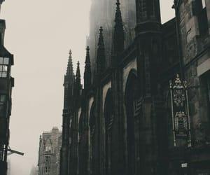 castle, architecture, and dark image
