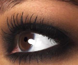 makeup, eyes, and brown eyes image