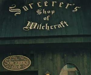 harry potter, hogwarts, and slytherin image