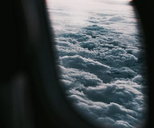 clouds, travel, and sky image
