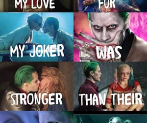 quote, thejoker, and harleyquinn image