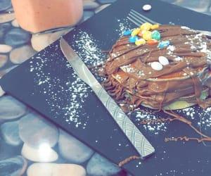 breakfast, chocolat, and food image