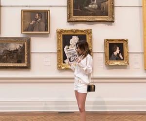 bag, museum, and fashion image