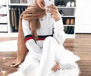 fashion, gucci, and hijab image