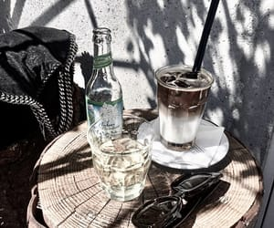 coffee, fashion, and summer image
