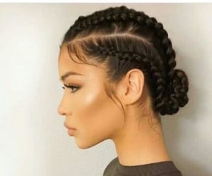hair and braid image