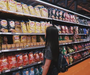 aesthetic, chips, and food image