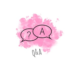 highlight, pink, and q&a image