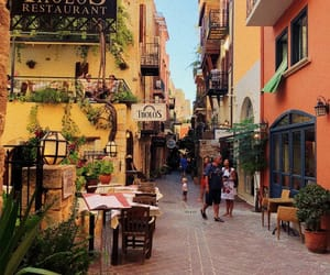 Greece, summer, and chania image