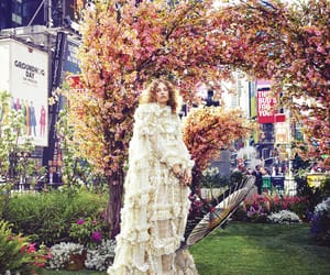 petra collins, fashion photography, and times square image