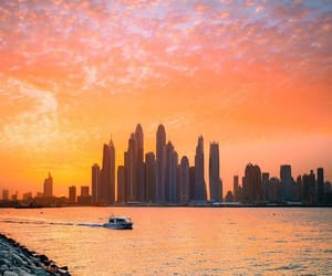 building, city, and Dubai image