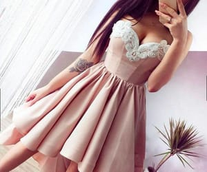 dress and high low homecoming dress image