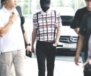 airport, exo, and fashion image