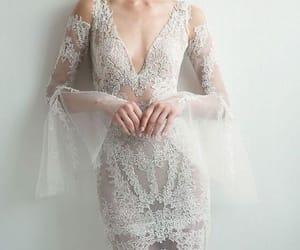 dress, feminine, and glamour image