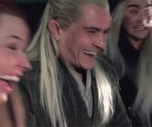gif, orlando bloom, and the hobbit image